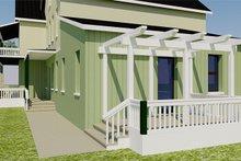 Architectural House Design - Loggia