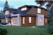 Modern Style House Plan - 4 Beds 3.5 Baths 3809 Sq/Ft Plan #1066-53 Exterior - Other Elevation