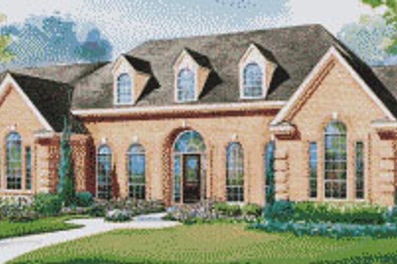 Home Plan - European Exterior - Front Elevation Plan #20-1172