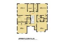 Modern Floor Plan - Upper Floor Plan Plan #1066-64