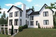 Home Plan - Farmhouse Exterior - Rear Elevation Plan #23-2742