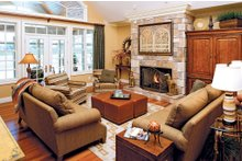 Dream House Plan - Country Interior - Family Room Plan #929-13