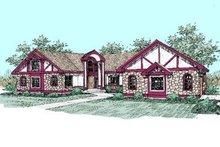 Dream House Plan - European Exterior - Front Elevation Plan #60-249