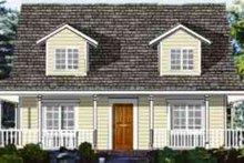 House Plan Design - Ranch Exterior - Front Elevation Plan #3-154
