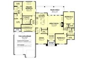 Farmhouse Style House Plan - 3 Beds 2 Baths 2199 Sq/Ft Plan #430-235 Floor Plan - Other Floor
