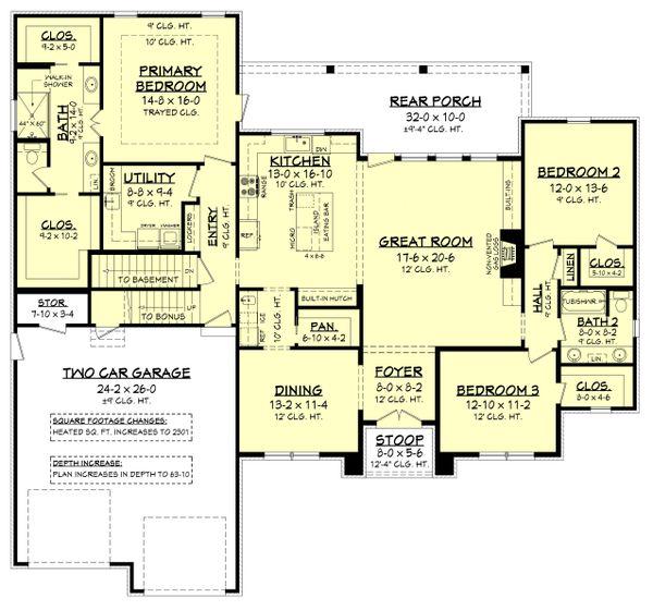 Dream House Plan - Farmhouse Floor Plan - Other Floor Plan #430-235