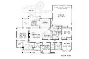 European Style House Plan - 4 Beds 3 Baths 2132 Sq/Ft Plan #929-1041 Floor Plan - Main Floor Plan