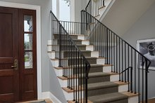 Craftsman Interior - Entry Plan #928-312