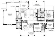 Country Style House Plan - 3 Beds 2.5 Baths 2251 Sq/Ft Plan #942-57 Floor Plan - Main Floor Plan
