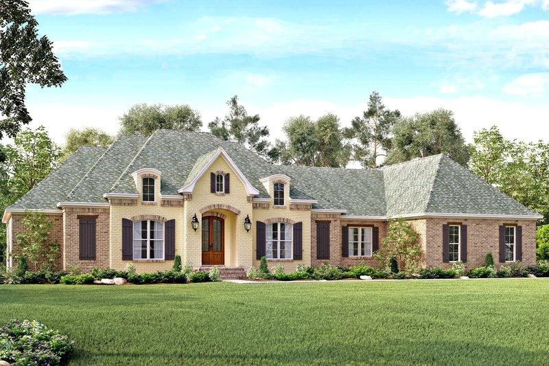 Dream House Plan - European Exterior - Front Elevation Plan #430-128