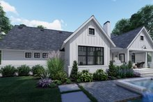 Farmhouse Exterior - Rear Elevation Plan #120-262