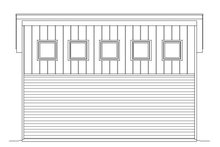 House Plan Design - Contemporary Exterior - Other Elevation Plan #932-32