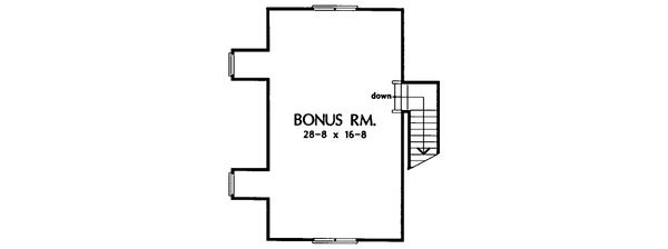 Country Floor Plan - Other Floor Plan Plan #929-22