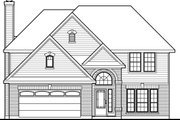 Traditional Style House Plan - 3 Beds 2.5 Baths 2185 Sq/Ft Plan #80-147
