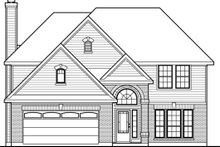Traditional Exterior - Other Elevation Plan #80-147