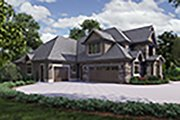 Craftsman Style House Plan - 4 Beds 4.5 Baths 4997 Sq/Ft Plan #48-973