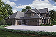 Craftsman Exterior - Other Elevation Plan #48-973