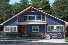 Dream House Plan - Craftsman Exterior - Front Elevation Plan #1073-18