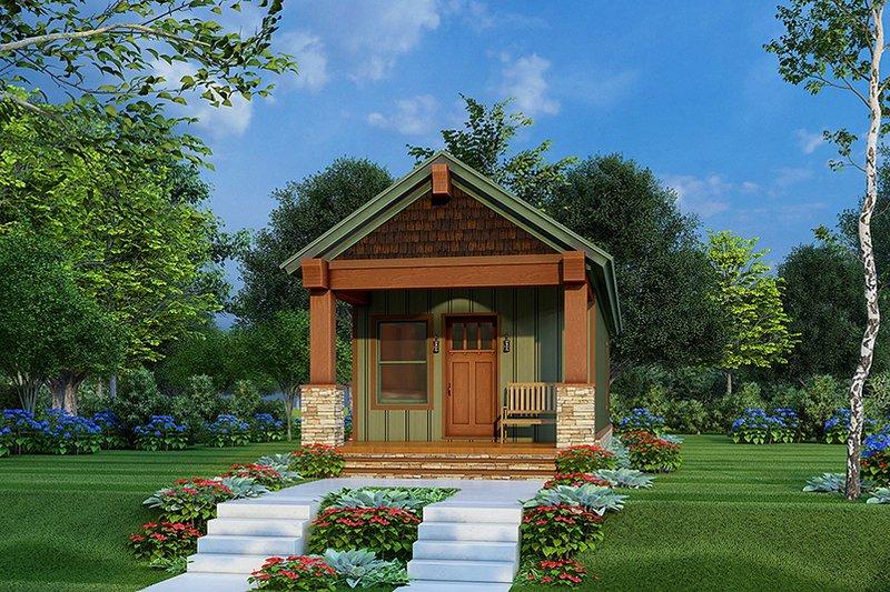 House Plan Design - Craftsman Exterior - Front Elevation Plan #923-221