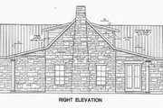 Country Style House Plan - 2 Beds 2 Baths 1588 Sq/Ft Plan #472-11 Exterior - Other Elevation