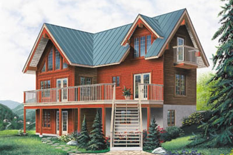 Home Plan - Exterior - Front Elevation Plan #23-2065