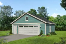Dream House Plan - Country Exterior - Front Elevation Plan #932-331
