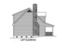 Dream House Plan - Cottage Exterior - Other Elevation Plan #22-218