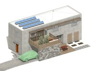 House Blueprint - Modern Exterior - Other Elevation Plan #497-58