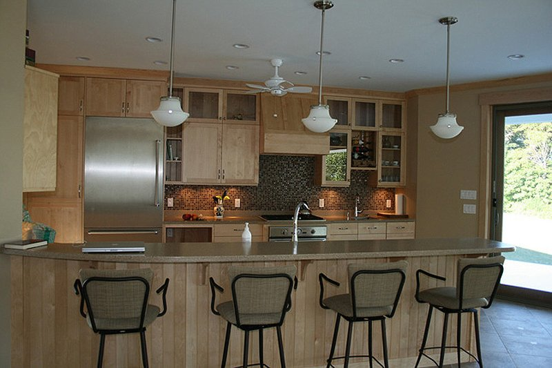 Ranch Interior - Kitchen Plan #124-472 - Houseplans.com