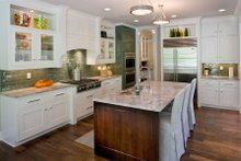 Dream House Plan - Country Interior - Kitchen Plan #901-1