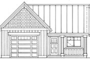 Cottage Style House Plan - 0 Beds 0 Baths 580 Sq/Ft Plan #118-122 Exterior - Other Elevation