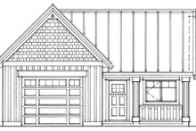 Dream House Plan - Cottage Exterior - Other Elevation Plan #118-122