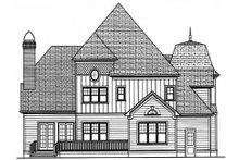 Home Plan - Victorian Exterior - Rear Elevation Plan #413-142