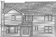 Traditional Style House Plan - 4 Beds 2.5 Baths 1937 Sq/Ft Plan #70-249