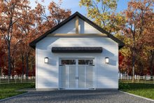 Home Plan - Farmhouse Exterior - Front Elevation Plan #23-2748