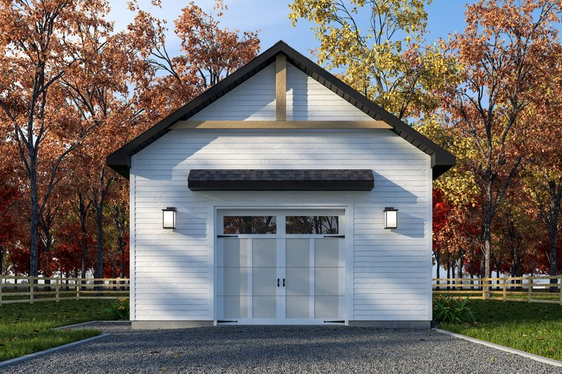 House Plan Design - Farmhouse Exterior - Front Elevation Plan #23-2748