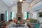 Craftsman Style House Plan - 4 Beds 3 Baths 2793 Sq/Ft Plan #929-986 Interior - Family Room