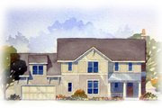 Craftsman Style House Plan - 3 Beds 2.5 Baths 2122 Sq/Ft Plan #901-74 Exterior - Front Elevation