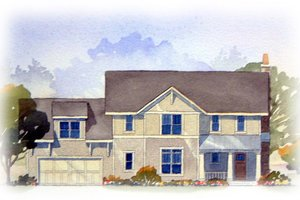 Craftsman Exterior - Front Elevation Plan #901-74
