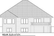 Home Plan - Craftsman Exterior - Rear Elevation Plan #70-999