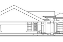 Mediterranean Exterior - Other Elevation Plan #124-429