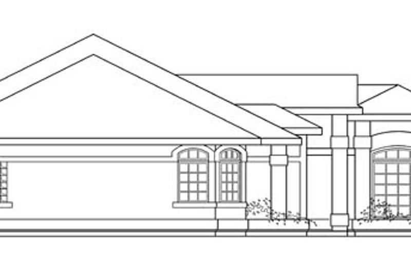 Mediterranean Exterior - Other Elevation Plan #124-429 - Houseplans.com