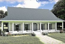 Architectural House Design - Southern Exterior - Front Elevation Plan #44-237