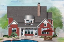 Architectural House Design - Farmhouse Exterior - Rear Elevation Plan #929-1115