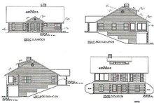 Traditional Exterior - Rear Elevation Plan #117-292