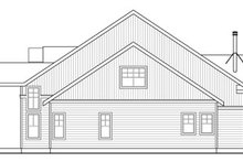 Craftsman Exterior - Other Elevation Plan #124-823