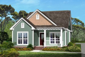Narrow Lot House Plans from HomePlans.com on