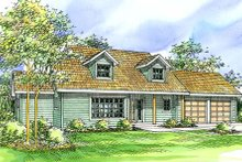 House Design - Farmhouse Exterior - Front Elevation Plan #124-321
