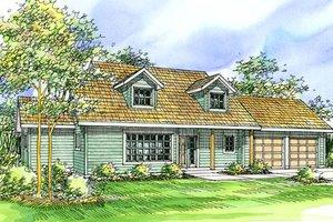 Farmhouse Exterior - Front Elevation Plan #124-321