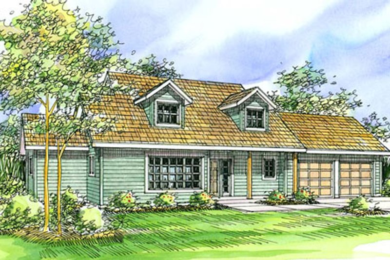 Farmhouse Style House Plan - 3 Beds 2.5 Baths 1998 Sq/Ft Plan #124-321